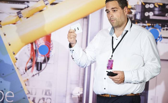 Presentation Smart Buildings at Microsoft IoT Partner Event inBrussels